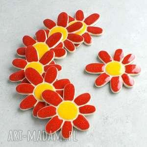 na święta prezent Kwiatek - magnes, kwiaty, łąka, magnesy, upominki, kuchnia, bajkowe