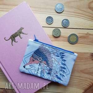 portfele portfel lisek indianin, portfel, lis, mały, monety