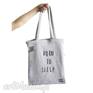 born to sleep bag, eko, torby, sleep, zakupy, plaza na ramię
