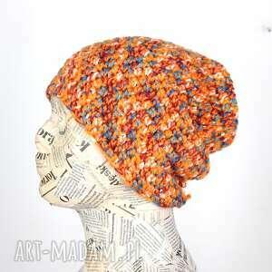 Kolorowa czapka unisex słoneczna beanie 048 czapki godeco czapka