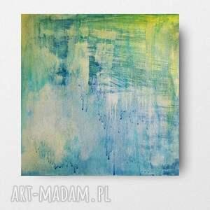 abstrakcja-obraz akrylowy formatu 40/40 cm, abstrakcja, obraz