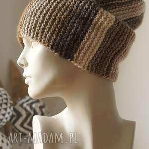 ręcznie zrobione czapki czapka multikolor