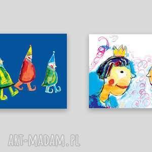 2 bajkowe plakaty dla dziecka, grafiki do dzieciecego pokoiku, dekoracje