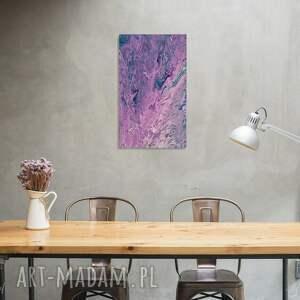 Obraz abstrakcja 30x50 akryle na płótnie, abstrakcja, abstrakcyjny, obrazabstrakcyjny