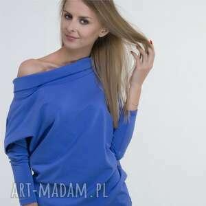 bluzki oversize bawełniana bluza, bluzki