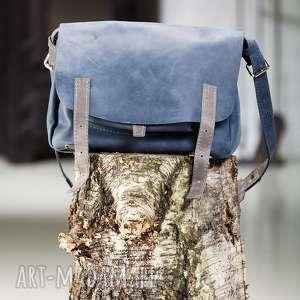 teczka listonoszka skórzana torebka navahoclothing, torba skórzana, na ramię