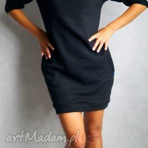 Dresówka XS/S, dresowa, tunika, sukienka, kieszenie, ciepła