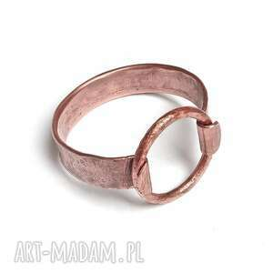 ręczne wykonanie nowoczesna bransoleta z miedzi