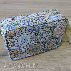 na ramię single bag - beżowe heksagony, elegancka, nowoczesna, wesele, heksagony