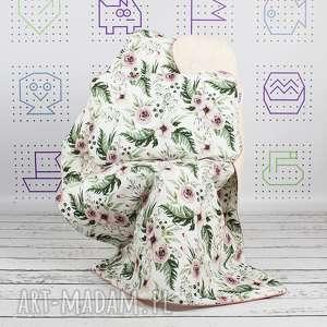 Zestaw Przedszkolaka Kocyk 100x135 i poduszka Blossom, kocyk, poduszka, pościel
