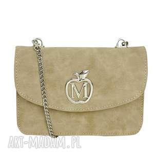 handmade torebki manzana mała listonoszka kopertówka na łańcuszku