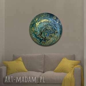 krajobraz księżycowy 41, planeta, księżyc, ziemia, alexandra13art, semeniuk