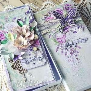 gratulacje dla młodej pary - kartka ręcznie robiona ślub, kartka z okazji