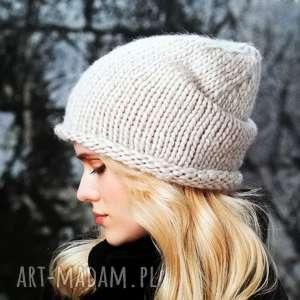 Czapka Wabush, czapka, wełniana, gruba, ciepła, zimowa, miękka