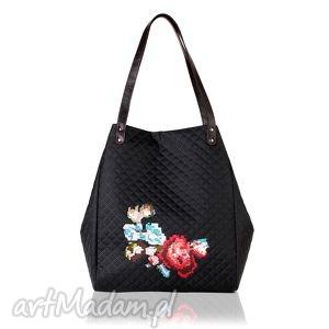torebka pikowana floral 427, pikowana, floral, modna