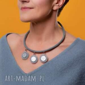 kolekcja light surprise naszyjnik nowoczesna biżuteria z upcyclingu