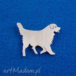 Prezent Broszka Berneński pies pasterski nr.16, broszka, pies, berneńczyk