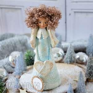 ręcznie robione pomysły na upominki świąteczne wyjątkowy anioł stróż, wykonany