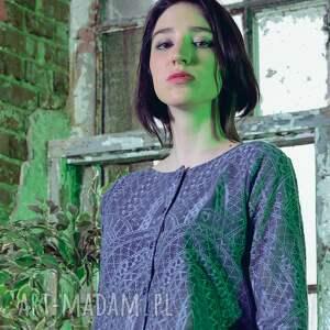 bluzka mozaika - bluza, bluzka, onesize, uniwersalna, mozaika, rozpinana