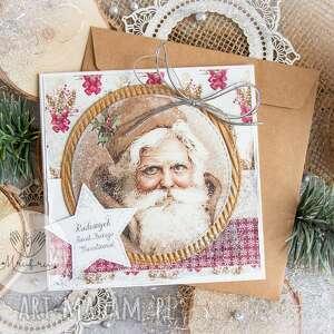 Pomysł na święta prezent. Piękna kartka na święta bożego