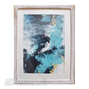 acqua di follia 25, obraz, abstrakcja, ręcznie, malowany, abstrakcja