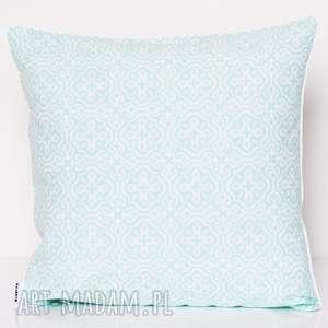 poduszki poduszka marrakech mint 50x50cm od majunto, poduszka-mozaika