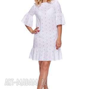 sukienki latori - sukienka w stylu boho lm18, boho, sukienka, koronka, kwiaty, haft