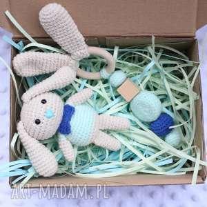 handmade zabawki zestaw gryzak maskotka
