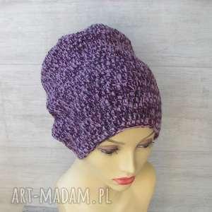 czapki szydełkowe - czapka, szydełko, beanie, modna czapka, czapka handmade