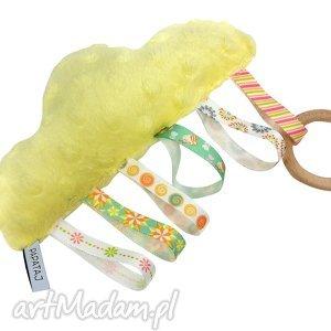 Chmurka metkowiec sensoryczny, metkowiec, niemowle, zabawka