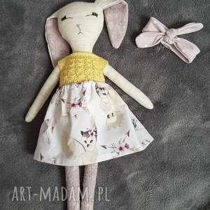 święta, tilda króliczek lalka, prezent, ozdoba, królik, dla dziewczynki
