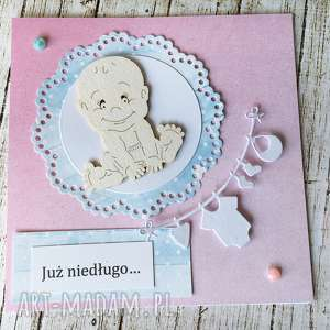 zestaw kartek już niedługo dla przyszłych dziadków - dziecko