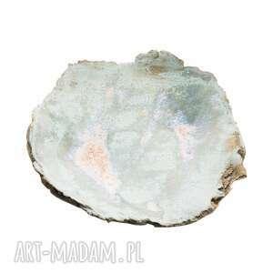 ręczne wykonanie ceramika podstawka do palo santo