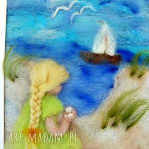 obraz wakacyjne wspomnienia obraz z kolekcji die - dziecko, wakacje, statek