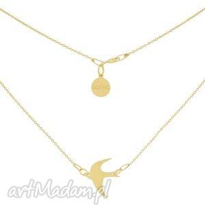 ręczne wykonanie naszyjniki złoty minimalistyczny naszyjnik