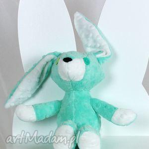 królliczka emi, królik, króliczek, maskotka, przytulanka, pluszowy, minky dla