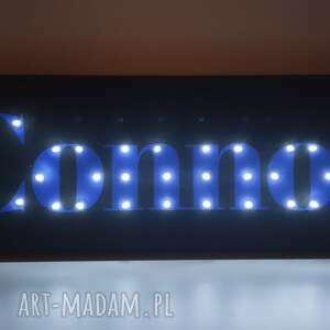 Obraz led z imieniem, neon, prezent dla chłopca, lampka, niego