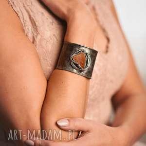 ręcznie wykonane bransoletka bursztynowa