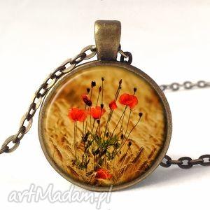 handmade naszyjniki maki - medalion z łańcuszkiem