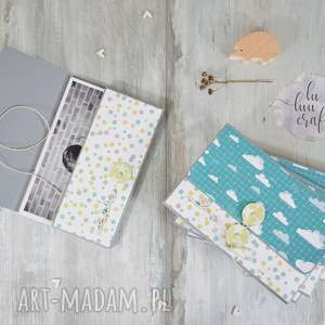 koperty na zdjęcia - 6 sztuk, koperta, etui, zdjęcia, wiązana, fotografie, album