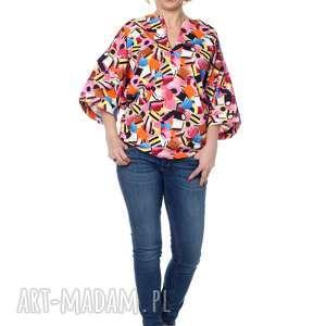 bluzki ciekawa bluzka kimono, niezwykle wygodna i uniwersalna, bawełna, designerska