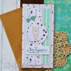 kartka - moc życzeń, kartka, uniwersalna, pastelowa, urodziny, dziecko, dorosły