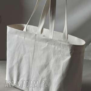Torba z washpapa, papier, wegańska, zamek, ekologiczna