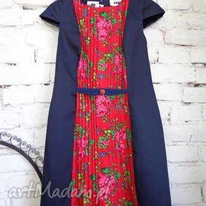 sukienka pliski Folk Design , folk