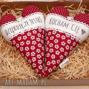 dom serce serduszko komplet 2 szt w pudełku walentynki, serce