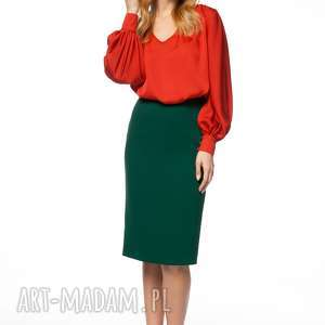 bluzka agate, szyfonowa koszulowa, mieniąca karnawałowa, elegancka, sylwester