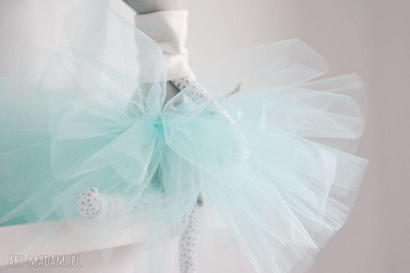 sarenka zabawki szare baletnica