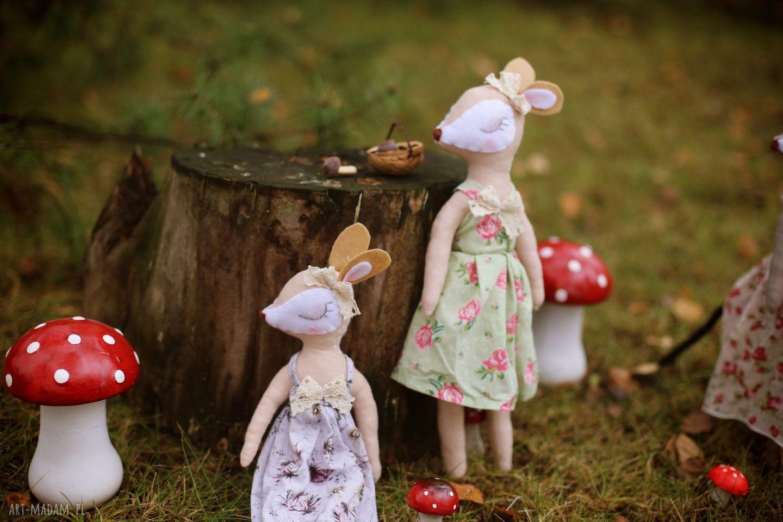 ręcznie robione lalki lalk leśna bajka - sarenka tonia