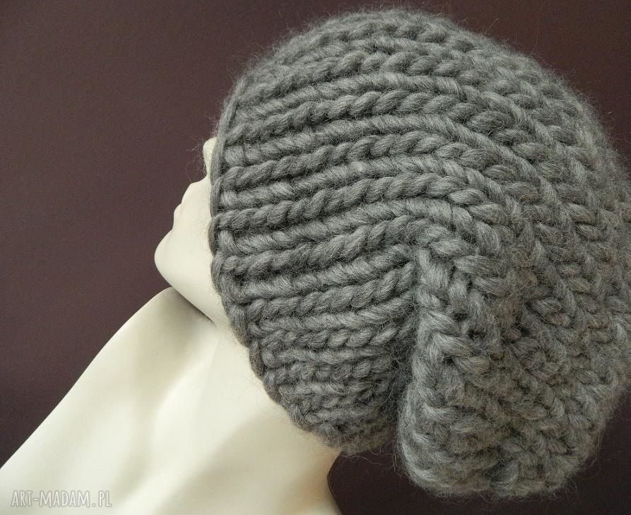 hand-made czapki 100% wełna * syberianka