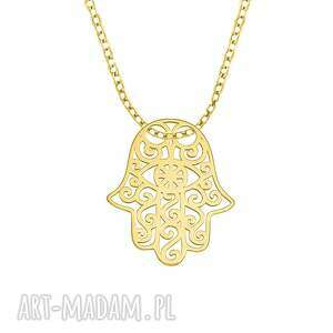 celebrate - fatima necklace g, fatima, celebrytka